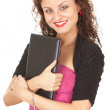 Young woman with laptop — Stock Photo #6915369