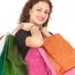 Girl with shopping bags — Stock Photo #6915426