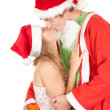 Christmas couple — Stock Photo #7094203