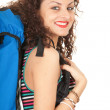 Royalty-Free Stock Photo: Backpacker