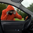 Car burglary, serie — Stock Photo #7096891
