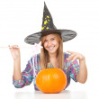 Royalty-Free Stock Photo: Halloween Witch
