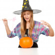 Halloween Witch - Stockfoto