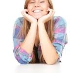 Smiling beautiful girl — Stock Photo #7281824