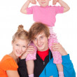 Happy family — Stock Photo #7326568