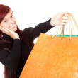 Girl with shopping bags — Stock Photo #7326597