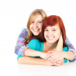 Stock Photo: Female friends