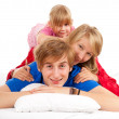 Happy family — Stock Photo #7340497