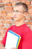 Teenage étudiants masculins — Photo