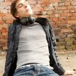 Young man with headphones — Stock Photo #7361512
