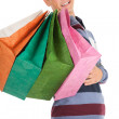 Stock Photo: Shopping young man