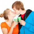 Young loving couple — Stock Photo #7361729