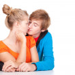 Young loving couple — Stock Photo #7361730