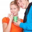 Young loving couple — Stock Photo #7361746