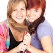 Foto de Stock  : Female friends