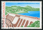 Stamp dam — Stock Photo
