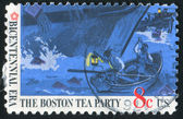 Boston tea party — Stock Photo