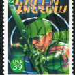 green arrow — Stock Photo