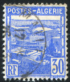 ALGERIA CIRCA 1941: stamp printed by Algeria, shows View of Algiers, circa 1941 — Stock Photo