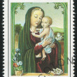 Virgin and the Infant - Stock Photo