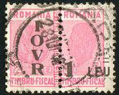 Sello imprimido por rumania — Foto de Stock