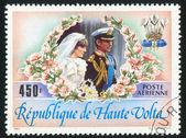 Diana and Charles — Stock Photo
