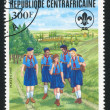 Girl Guides — Stock Photo