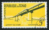 沙里桥 — 图库照片