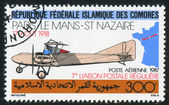 Farman biplane — Stock Photo