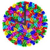 Původní hodinový ciferník — Stock fotografie