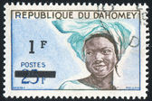 Dahomey girl — Stock Photo