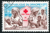 Red Cross Nurses — Stock Photo