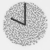 Original clock face — 图库照片