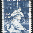 Babe Ruth - Stock Photo