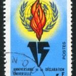 UN Emblem — Stock Photo #7647560