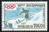 Stamp printed by Togo — Stock Photo