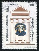 迦太基城的遗迹 — 图库照片