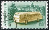 ônibus de hungria — Foto Stock
