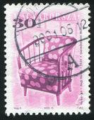 Старинный стул — Стоковое фото