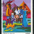 GUINECIRC1968: stamp printed by Guinea, shows Old Fayas Inheritance, circ1968 — 图库照片 #7898625