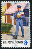 Mailman — Stock Photo