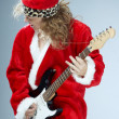 Christmas rock-n-roll — Stock Photo