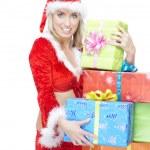 Christmas woman — Stock Photo #7420448