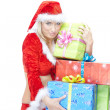 Christmas woman — Stock Photo #7420537