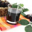 Elderberry juice — Stockfoto