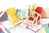 Interior designers — Stock Photo