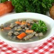 liver spaetzle soup — Stock Photo #6835880