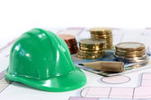 Construction financing — Stock Photo
