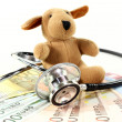 Veterinarian costs - Stock Photo