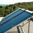 Vacuum solar water heating system — ストック写真